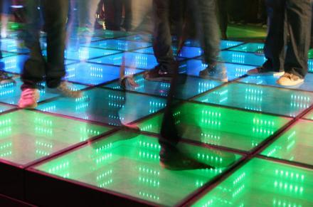 Energizujúca podlaha